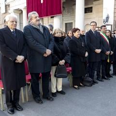 2020 Bari Visita Papa Francesco:Presidente  Mattarella e autorità