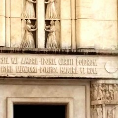 Iscrizione portale Santuario S.Rita