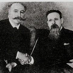 Giovanni Bovio e Matteo R. Imbriani