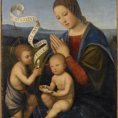 Madonna con San Giovannino. Francia. Pinacoteca di Brescia