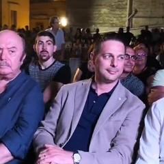 Canosa: Lino Banfi, Sindaco Roberto Morra