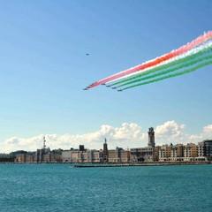2020 Frecce tricolori sui cieli di Bari