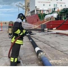 Barletta Esercitazione di security portuale Capitaneria di Porto