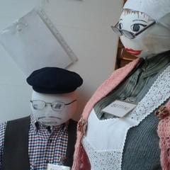 """Canosa - Fantocci di pezza di Carnevale """"La petterròne"""""""