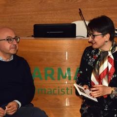Antimo Cesaro e Luciana Fredella a Canosa
