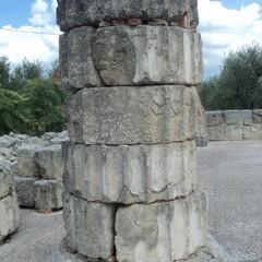 Canosa colonne tempio allenistico