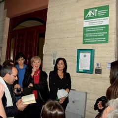 Cerimonia intitolazione sede ANT Canosa
