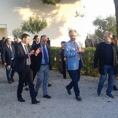 Il Ministro Bonisoli al Parco Archeologico San Leucio  a  Canosa