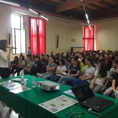 Canosa: La giornalista Alessandra Ferraro