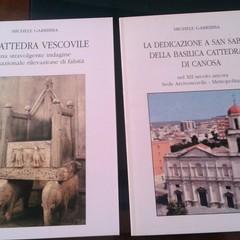 Michele Garribba:La Cattedra Vescovile-La dedicazione a San Sabino della Cattedrale