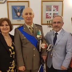 Il Generale Tommaso Petroni con sorella Maria Pia e cognato Carbone Antonio