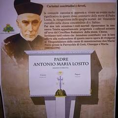 Ricognizione dei resti mortali del Venerabile P.A.M. Losito