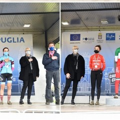 Lecce 2021  Tricolori Ciclocross  podio gare femminili