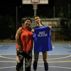Gaia Gambino Miglior giocatrice del torneo - Canosa