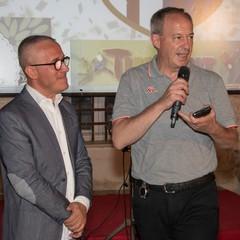 Pino Grisorio e Don Felice Bacco