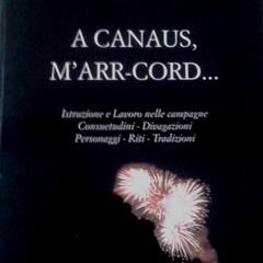 Michele Garribba: A Canaus,m'arr-cord...