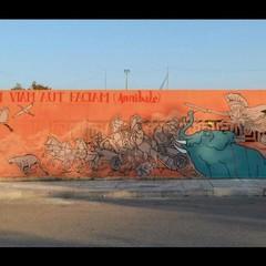 Street Art  Piskv Canosa di Puglia Stadio Comunale San Sabino