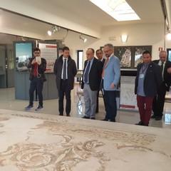 Il Ministro Bonisoli al Museo-Parco Archeologico San Leucio Canosa