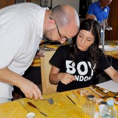 A Scuola di Iconografia Luca Saponaro e Maddalena Strippoli