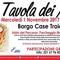 Tavola-dei-Morti 2017 Spoltore