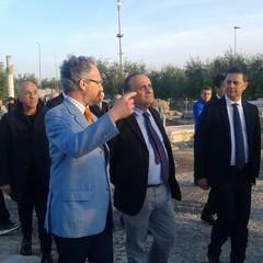 Il Ministro Bonisoli al Museo Parco  Archeologico  San Leucio  Canosa