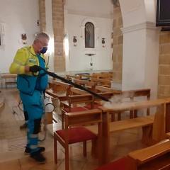 2020 Igienizzazione Chiesa Gesù Giuseppe Maria Canosa di Puglia