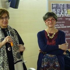 Docente Cristina Sccinto e Assessore Mara Gerardi