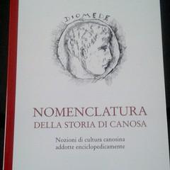 Michele Garribba: Nomenclatura della Storia di Canosa