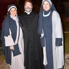 Don Saverio Memeo Rosa Minutillo Presepe Vivente Canosa di Puglia