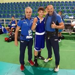 2019  Danilo Mastrorillo e il coach  Stifani Francesco Tblisi- Georgia