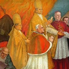 Capp.Americana, Steffanina, Benedetto XV, Pio XI e Giov.XXIII