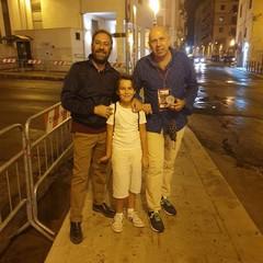 Lorenzo Accetta con il regista Sergio Maifredi