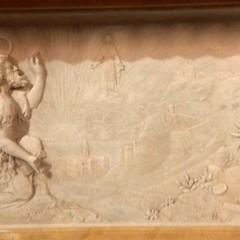 Altare maggiore il Profeta Elia e Maria