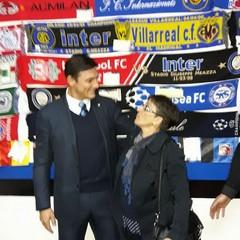 Javier Zanetti e Maria  Rosaria Natale