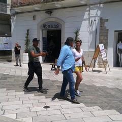 Angela Rafanelli  RAI 1 a Canosa di Puglia