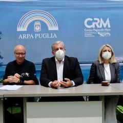 Puglia Arpa presentazione dati monitoraggio acque di balneazione