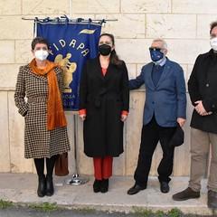 Canosa.Ass. Gerardi, Pres,Lombardi, Cav. Di Nunno, Dott. Sardella