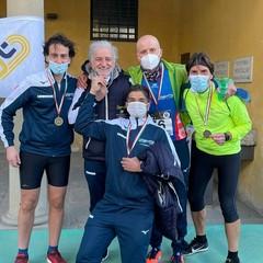 Premio Diomede Sport staffetta cross 'Atletica Pro Canosa  F.Imbrici, V.Di Nunno, A. Dettole, A. Di Giulio