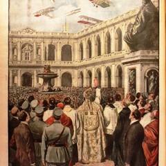Benedizione degli aerei  del 1920 a Loreto