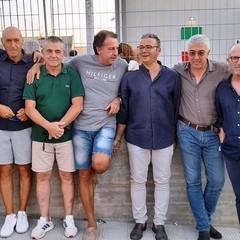 A Canosa gli ex calciatori della squadra rossoblu