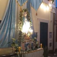 Canosa: la tradizione degli altarini di strada- Via Nicola Nicolini