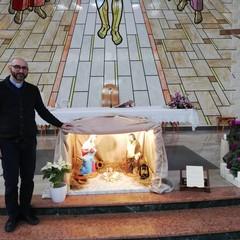 Canosa: Natività sotto l'altare della Chiesa di Gesù Liberatore