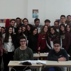 Canosa Liceo E. Fermi Classe 2 A con Prof.ssa Palmieri