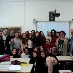 Canosa Liceo E.Fermi Classe 4 B con Prof.ssa Del Vecchio