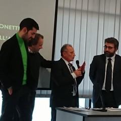 Fernando Forino, Pasquale Valente e Vincenzo Lionetti