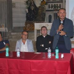"""Leonardo Zellino alla conferenza """"La Desolata va in restauro"""""""