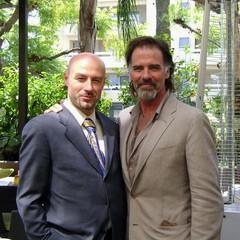 Sandro Coppola con Jeff Fahey