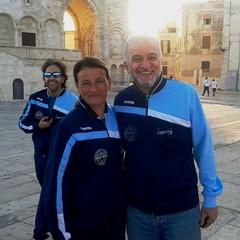 Presidente G. Tomaselli e Grazia De Corato