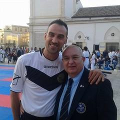 Il campione del mondo Giuseppe Di Domenico e Sabino Silvestri