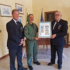 2020 Loreto:Cav. Franco Di Pinto-Col.Luca Massimi- Pres. Cosimo Di Ruggiero